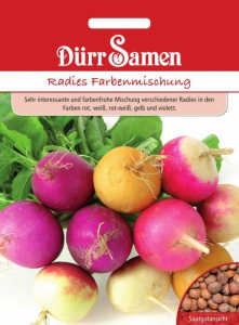 Radies Farbmischung